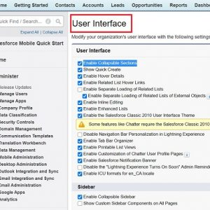 User Interface In Salesforce