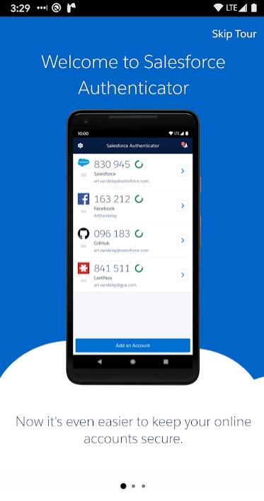 Salesforce Authentication App- MFA