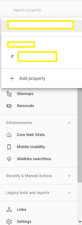 Submit website sitemap to Google Search Console