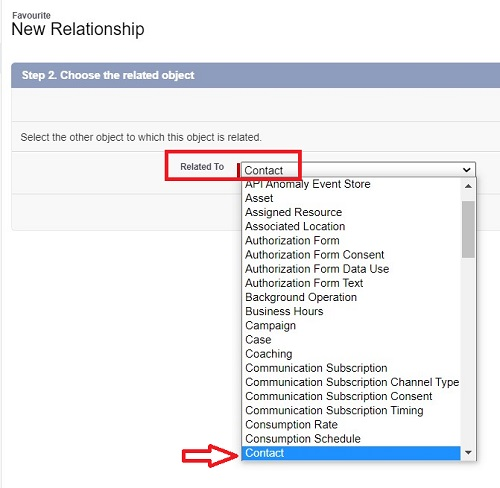 Create Lookup Relationship