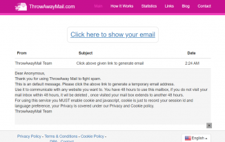 ThrowAwayMail.com